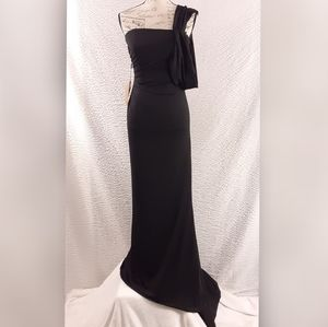 NWT Light in the Box Black Gown